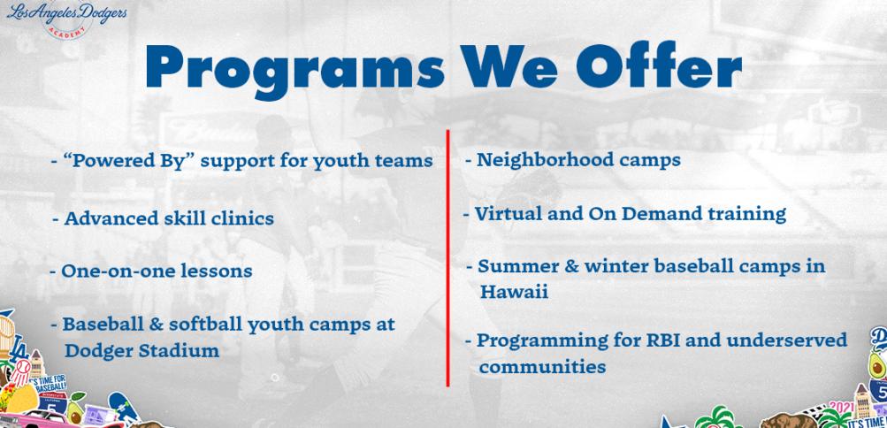 Programs We Offer